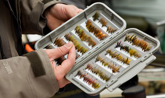 loch eye fly fishing, fly box